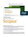 Register Journal Citedness in Scopus
