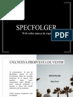Texto Promocional - SPECFOLGER