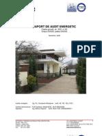 Raport Audit Energetic Site