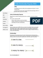 Data Modeling and Entity Relationship Diagram (ERD)