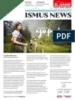 Tourismus News - 8. Ausgabe - Sommer 2018