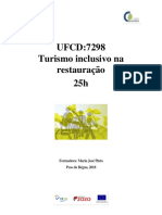 Manual de Turismo Inclusivo Na Restauraao