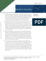 GS Report on SA 'New Deal'