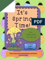 Its Springtime Esl Flashcards