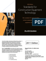 Standards for Construction Equipment Technology