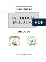CURSO. PSICOLOGÍA EVOLUTIVA