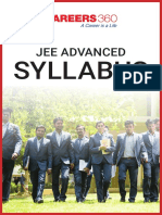 JEE Advanced Syllabus