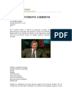 Webquest Anthony Giddens