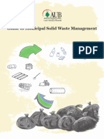 Guide to Municipal Solid Waste Management
