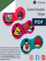 Custom Embroidery Designs