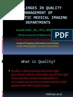 challengesinqualitymanagementofdiagnosticmedicalimaging-140725151256-phpapp01