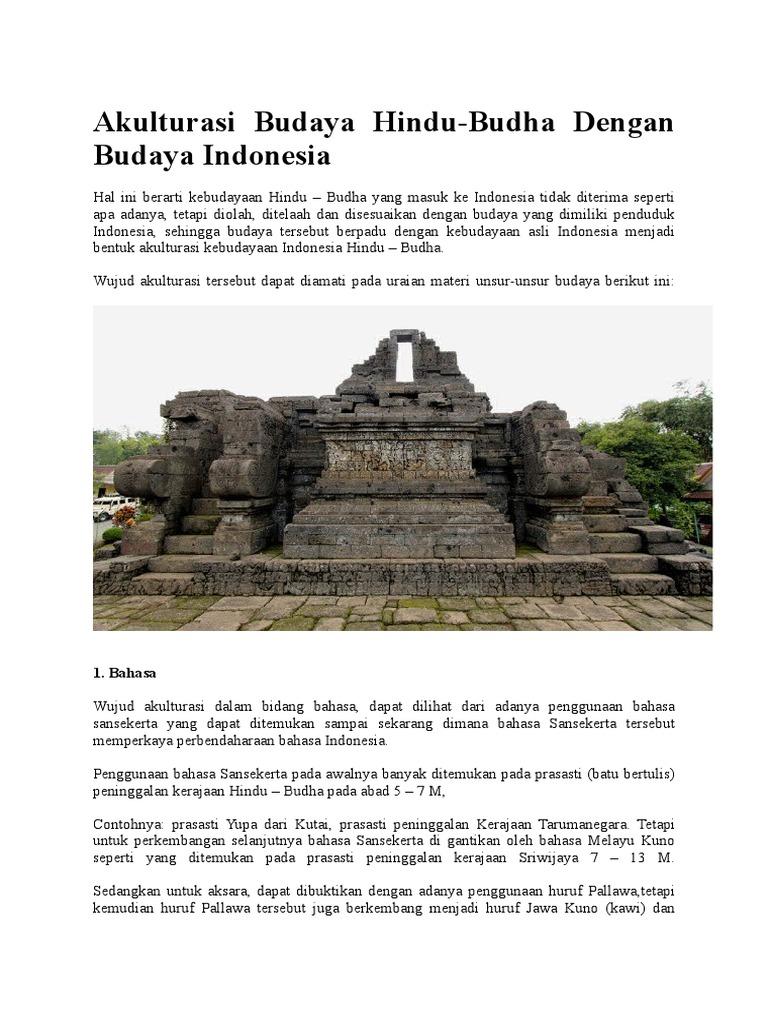 Akulturasi Budaya Hindu