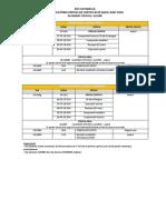 Calendari Proves de Certificació Francès Juny 2018