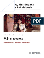 Unitate Didaktikoa - 'Sheroes' (euskara)