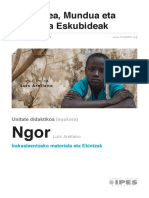 Unitate Didaktikoa - 'Ngor' (euskara)