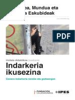 Unitate Didaktikoa - 'Indarkeria ikusezina' (euskara)