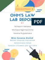 ohm 22s law lab report-2