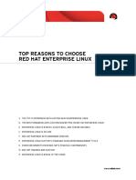 Top Reasons to Select Red Hat Enterprise Linux