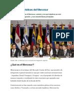 10 Características Del Mercosur