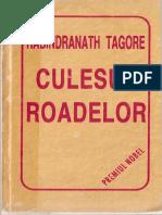 Rabindranath Tagore - Culesul Roadelor (Premiul Nobel)