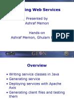 CSIG WS Creating Web Services