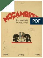Moçombique Documentário Trimestral, n. 86
