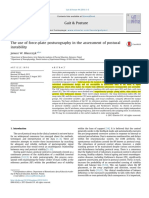 1. the Use of Force Plate Posturography in the Assessment of Postural Instability 2016 Gait Posture
