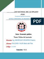 Fallas de Mercado PDF