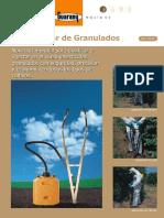Folleto Dosificador de Granulados Guarany