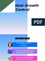 PPT Kontrol Pertumbuhan Mikroba