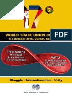 2nd WFTU Poster English
