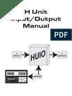 Manual Panel H-100 IO