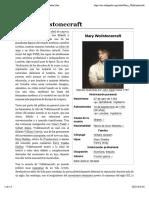 Mary Wollstonecraft - Wikipedia, La Enciclopedia Libre