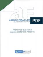 Manual Agencia Empleo Madrid Conseguir Trabajo