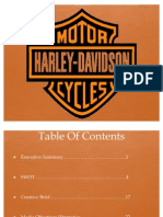 Harley Davidson Media Plan