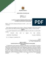 Regulamentul MF Privind Raportarea Activitatii de Audit Intern in Sectorul Public Nr.113 Din 05.09.2011