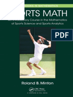 Sports Math an Introductory Course in the Mathematics of Sports Science and Sports Analytics (1)