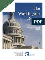 Washington Report the Ferguson Group 2010