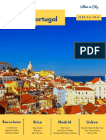 Backpack Across Spain & Portugal - June 9 to 19