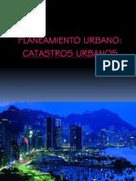 Clase Catastros Urbanos