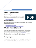 American Cancer Society About Thyroid Cancer