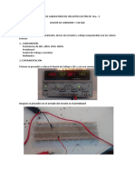 Informe de Laboratorio de Circuitos Electricos Nro