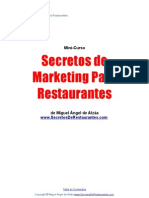Secretos de Marketing Para Restaurantes