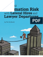 Law Firm Risk Management IntApp Conflicts, Lateral Hires and Confidentiality Management