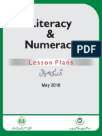 LitNum Hour Lesson Plans - May 2018