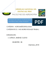 Monografia de Agrometeorologia
