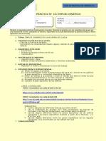 10a Guía de Practica Hidr, Empuje Dinámico Esfera