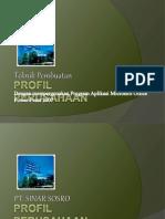 Membuat Presentasi Profil Perusahaan