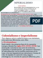 IMPERIALISMO Y COLONIALISMO 8°