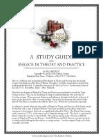 StudyGuide_MagickInTheoryAndPractice
